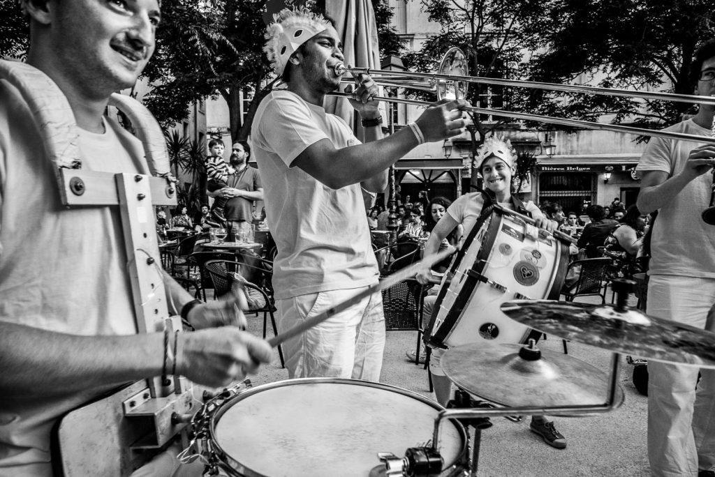 Festival des Fanfares de Montpellier .  Photo© Daniel Brian