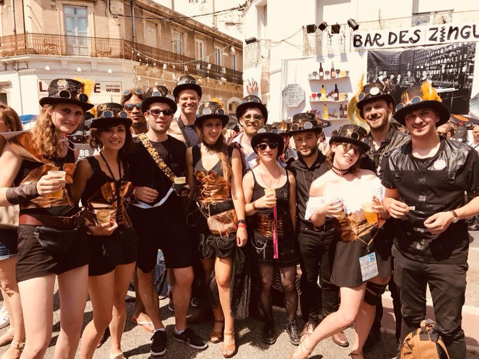 Festival des Fanfares de Montpellier . POBB 2018