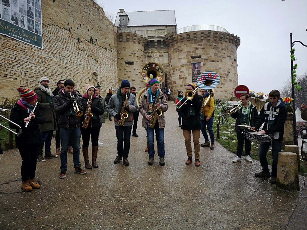marathon musical du Poil O' Brass Band