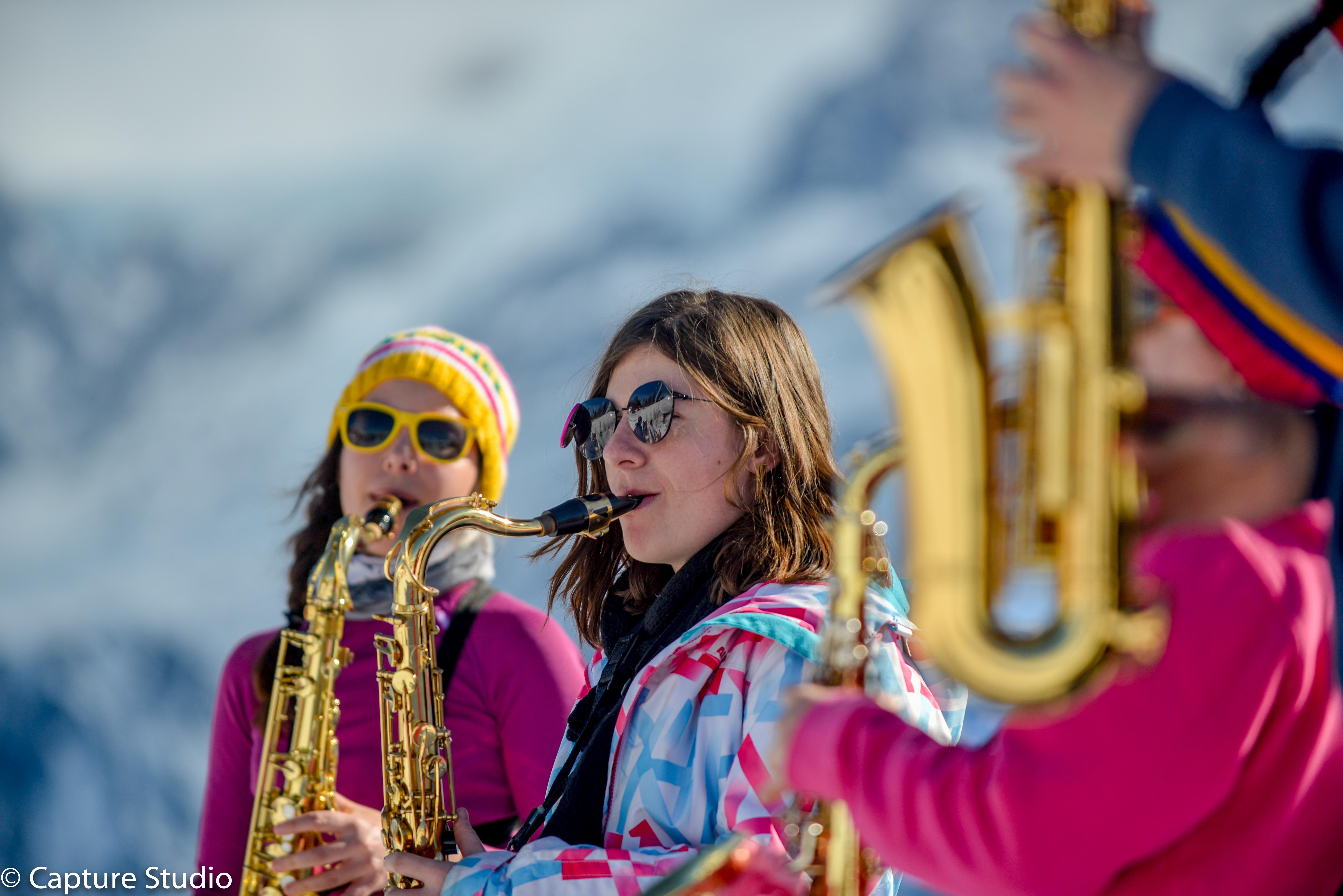 Le POBB à Chamonix (Février )