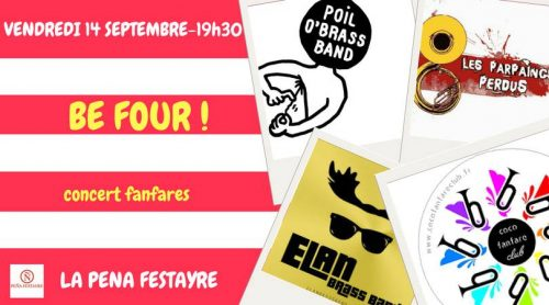 Be Four Fanfares Pena Festayre 2018 . POBB