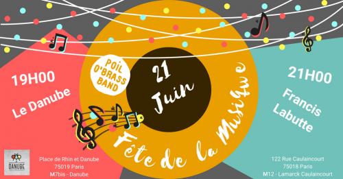 Concert Fête de la musique 2018 . POBB