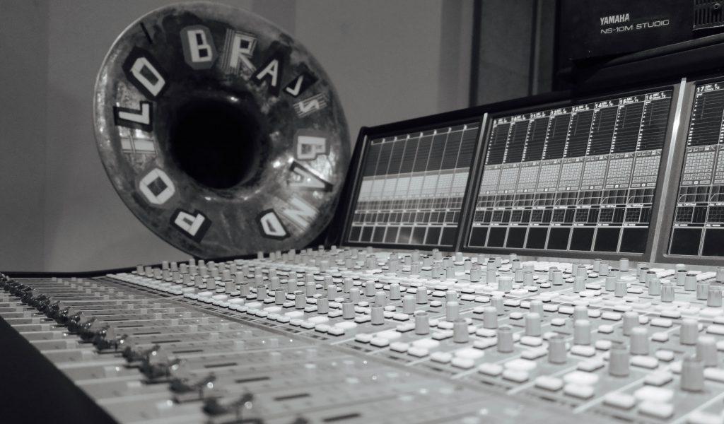 """Enregistrement CD """"Disque Rayé"""""""