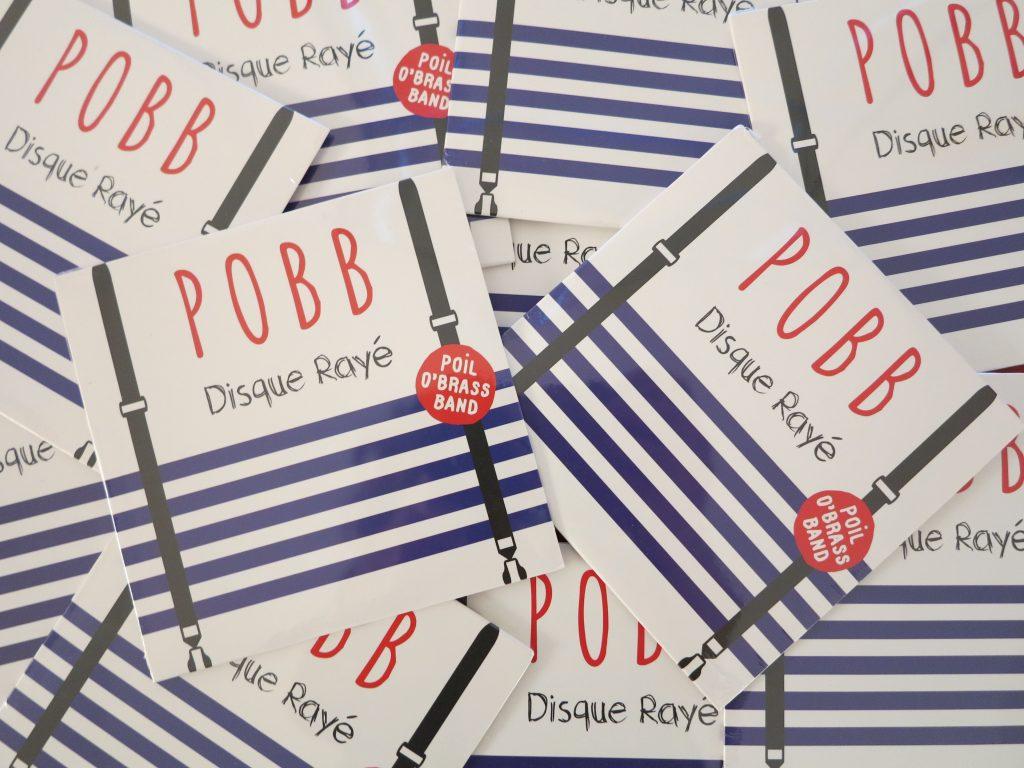 Disque Rayé . POBB Fanfare Paris