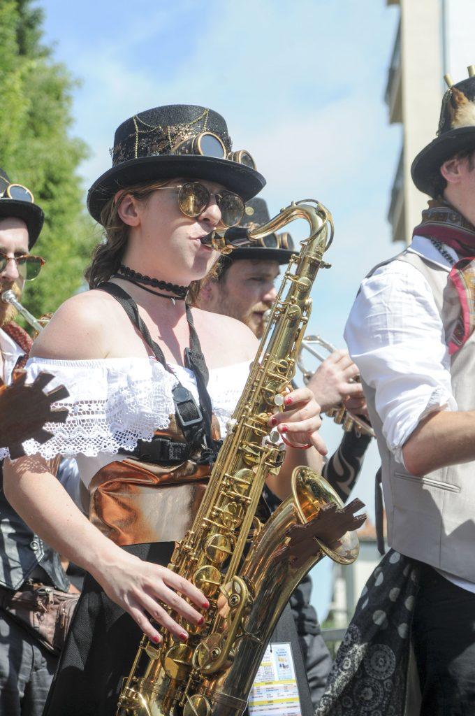 Festival des Fanfares de Montpellier .  Photo© JF Arnier