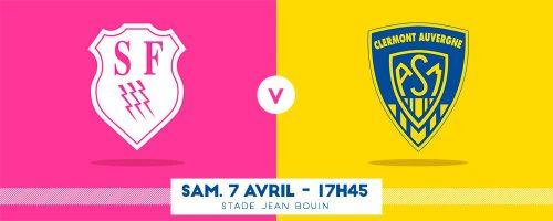Stade Français vs ASM Clermont . POBB