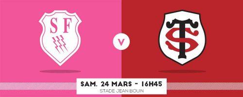 Stade Français vs Stade Toulousain . POBB
