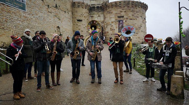 marathon musical du Poil O' Brass Band