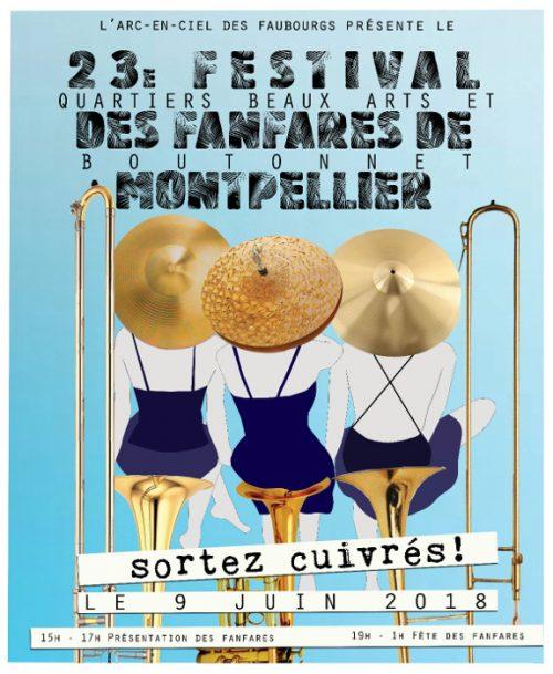 Festival des Fanfares de Montpellier 2018 . POBB