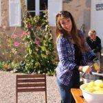 De nature discrète, Justine a toujours la patate et n'hésite pas à finir tard, même pour les plans fanfare.