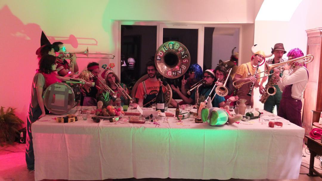 """Le Poil'O Brass Band en """"Cène"""" mais pas la dernière"""